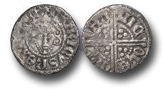 World Coins - VLC287 - ENGLAND, Henry III (1216-1272), Penny, 1.17g., Voided Long Cross Coinage, Class 2a, (1248), Nicole – London