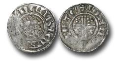 World Coins - H4113 – ENGLAND, PLANTAGENET, Henry III   (1216-1272), Short Cross Penny, 1.47g., class 7b (c.1222-c.1236),  Canterbury - Ioan