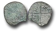 World Coins - SZ132  - SCOTLAND, James IV (1488-1513), Billon Penny, 0.63g., 2nd Issue, type IV, Edinburgh mint