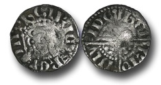 World Coins - VLC442 - ENGLAND, Henry III (1216-1272), Penny, 1.21g., Voided Long Cross Coinage, Class 5b2, (1248-1250), Henry - London