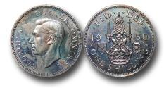 World Coins - EM466 - Great Britain, George VI (1936-1952), Proof Cupro-Nickel Shilling, 1950, Scottish type