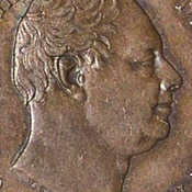 World Coins - JMS8 - Great Britain, William IV (1830-1837), Copper Farthing, 1831, (S.3848), PCGS holder, MS 63 BN
