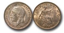 World Coins - EM560 – Great Britain, George V (1910-1936), Bronze Farthing, 1936
