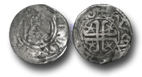 World Coins - S329 - SCOTLAND, William I 'The Lion' (1165-1214), Penny, 1.13g., Short Cross and Stars coinage, Phase B (c.1205-c.1230), Hue and Walter working together, Roxburgh mint