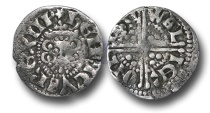 World Coins - VLC552 - ENGLAND, ENGLAND, PLANTAGENET, Henry III (1216-1272), Penny, 1.30g., Voided Long Cross Coinage, Class 3b, (1248-1250), Walter - Lincoln