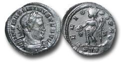 Ancient Coins - R18065 - Maximinus, as Augustus (A.D. 308-313), Bronze Follis, 3.365g., 24mm, Treveri mint
