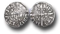 World Coins - EDZ7 - England, Edward I (1272-1307), Penny, 1.47g., New coinage, class 4c (1282 to 1289), London mint