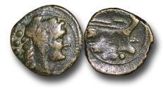 Ancient Coins - R16150 – Republic, Anonymous (91 B.C.), Æ Post-Reform Quadrans, 4.58g., 20mm, Rome mint