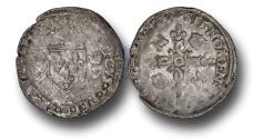 World Coins - ME34 – FRANCE, ROYAL COINAGE, Henri II (1519-1559), Silver Douzain aux Croissants, Paris mint