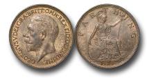 World Coins - EM481 – Great Britain, George V (1910-1936), Bronze Farthing, 1930