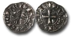 World Coins - SF16 - Anglo-Gallic, Aquitaine, Edward II - (Count of Ponthieu 1290 - 1325, Duke of Aquitaine and King of England 1307-1327), Denier au léopard