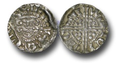 World Coins - VLC606 – ENGLAND, Henry III (1216-1272), Penny, 1.39g., Voided Long Cross Coinage, Class 5c, (1251-1272), Willem - Canterbury