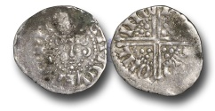 World Coins - VLC335 - ENGLAND, III (1216-1272), Penny, 1.52g., Voided Long Cross Coinage, Class 3ab1, (1248-1250), Ricard - Lincoln