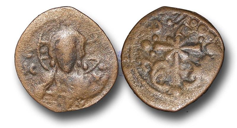 Ancient Coins - BYZ111 – BYZANTINE, Anonymous Folles, time of Nicephorus III (c.1078-1081), Æ Follis