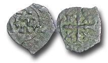 World Coins - ME1704 - MEDIEVAL ITALY, Kingdom of Sicily, Charles I of Anjou (1266-1282) Billon Denaro