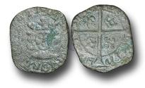 World Coins - SZ135  - SCOTLAND, James IV (1488-1513), Billon Penny, 0.85g., 2nd Issue, type IV, Edinburgh mint