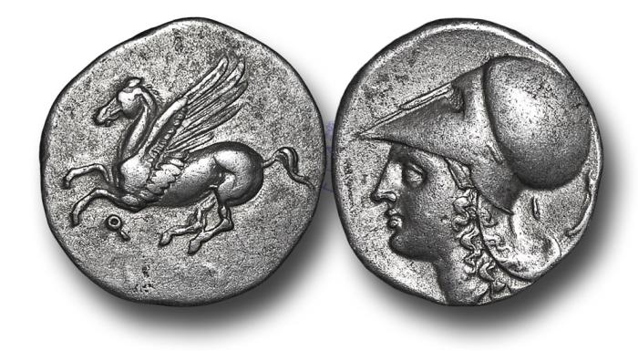 Ancient Coins - RPM46 - ANCIENT GREEK, CORINTHIA, Corinth (c.375-300 B.C.), Silver Stater