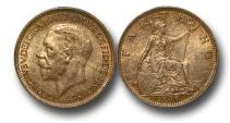 World Coins - EM438 – Great Britain, George V (1910-1936), Bronze Farthing, 1936