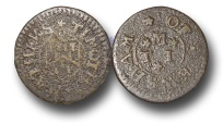 World Coins - EM238 – ENGLAND, Worcestershire, Evesham, Timothy Mathews, Copper Farthing Token