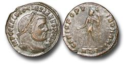 Ancient Coins - R18030 - Diocletian (A.D. 284-305),  Billon Follis, 11.18g., 29mm, Heraclea mint
