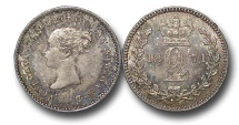 World Coins - EM532 - Great Britain, Victoria   (1837-1901), Silver Maundy Twopence, 1871