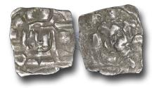 World Coins - ME1626 - MEDIEVAL ITALY, Lucca, immobilized type in the name of  the Holy Roman emperor, Heinrich III-V (1039-1125), Silver Denaro