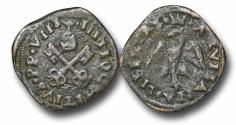 World Coins - ME9020 - Italy, Papal Coinage, Julius III 	(1550-1555), Silver Giulio, 22mm, 1.61g., Aquila degli Abruzzi mint