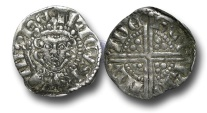 World Coins - VLC514 - ENGLAND, Henry III (1216-1272), Penny, 1.29g., Voided Long Cross Coinage, Class 5c, (1251-1272), Henri - London