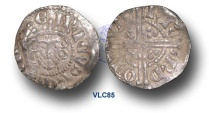 World Coins - VLC85 - ENGLAND, Henry III (1216-1272), Penny, 1.52g., Voided Long Cross Coinage, Class 5c, (1251-1272), Ricard - London