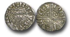 World Coins - VLC605 - ENGLAND, Henry III (1216-1272), Penny, 1.27g., Voided Long Cross Coinage, Class 5b2, (1248-1250), Iohs - Canterbury