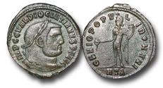 Ancient Coins - R18032  - Diocletian (A.D. 284-305), AE Follis, 9.95g., 30mm, Heraclea mint