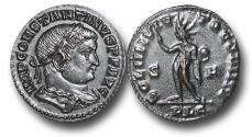 Ancient Coins - R18056 -ConstantineI (A.D.307-337), BronzeReduced Follis, 4.72g., 22mm,Lugdunummint