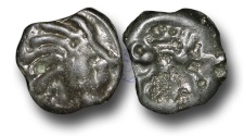Ancient Coins - EC21 – CELTIC, Gaul, Leuci, (c.60-40 B.C.), Potin Unit
