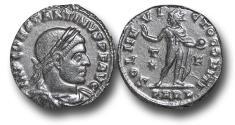 Ancient Coins - R18040 - Constantine I, as Augustus (A.D. 307-337), Bronze Follis, 2.97g., 20mm, Arelate mint