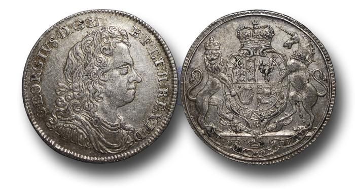 World Coins - M551 - GREAT BRITAIN, George I (1714-1727), Silver Jetton or Counter