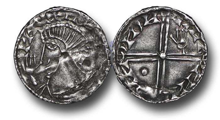World Coins - IR1756 - IRELAND, Hiberno-Norse Kings of Dublin, Phase III (c.1035-c.1060), Penny