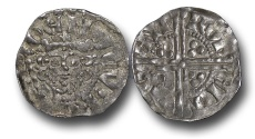 World Coins - H5377- ENGLAND, Henry III (1216-1272), Penny, 1.53g., 19mm, Voided Long Cross Coinage, Class 5g, (1251-1272), Robert - Canterbury