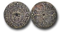 World Coins - H15204 - MEDIEVAL ENGLAND, PLANTAGENET (c.1280-1343), Tin Jeton