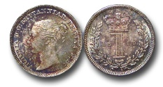 World Coins - EM603 - Great Britain, Victoria (1837-1901), Silver Maundy Penny,  1880