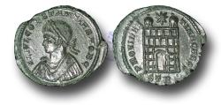 Ancient Coins - R11492 - Constantius II, as Caesar (A.D. 317-337), Bronze Follis, 2.13g., Treveri mint (Trier, Germany), first officina, A.D. 326