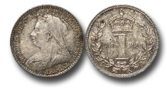World Coins - EM558 - Great Britain, Victoria   (1837-1901), Silver Maundy Penny, 1893