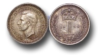 World Coins - EM355 – Great Britain, George VI  (1936-1952), Silver Maundy Penny, 1905
