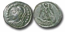 Ancient Coins - R18103 - Constantinian Commemorative Issue, Dedicated to the foundation of Constantinople(A.D. 330-333),  Bronze Follis, 2.25g., 19mm, Constantinople mint