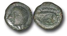 Ancient Coins - EC1114 – CELTIC, Gaul, Leuci, (c.60-40 B.C.), Potin Unit