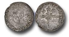 World Coins - ME1134 – FRANCE, ROYAL COINAGE, Henri II (1519-1559), Silver Douzain aux Croissants, Paris mint
