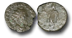 Ancient Coins - BR236 - The Gallic Empire, Tetricus I (A.D. 270-273), AE Antoninianus,  AE Antoninianus, AE Antoninianus, ex Braithwell Hoard, England, 2002.