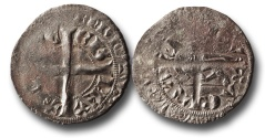 World Coins - SF14 - Anglo-Gallic, Aquitaine, Edward III, Silver Gros au léopard passant, Ex Steve Ford Collection.