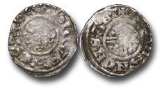 World Coins - RF7 – Medieval England, Henry III   (1216-1272), Short Cross Penny, 1.39g., 19mm, class 7a (1218-c.1222), Bury St. Edmunds - Norman