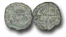 World Coins - SZ134 - SCOTLAND, James IV (1488-1513), Billon Penny, 0.49g., 2nd Issue, type IV, Edinburgh mint