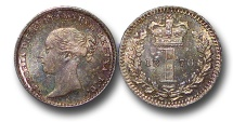 World Coins - EM600 - Great Britain, Victoria 		(1837-1901), Silver Maundy Penny,  1870